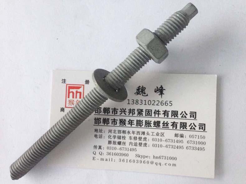 熱鍍鋅(xin)化學錨栓(shuan)